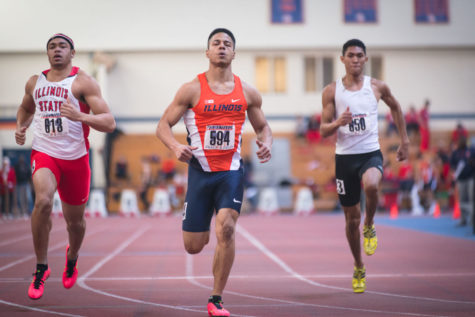 Illini men's track top field at EIU Big Blue Classic