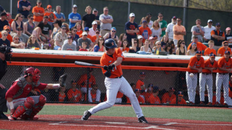 Illini baseball fall short in a pitcher's duel