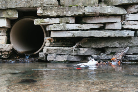 Work begins to prevent future pollution in Boneyard Creek