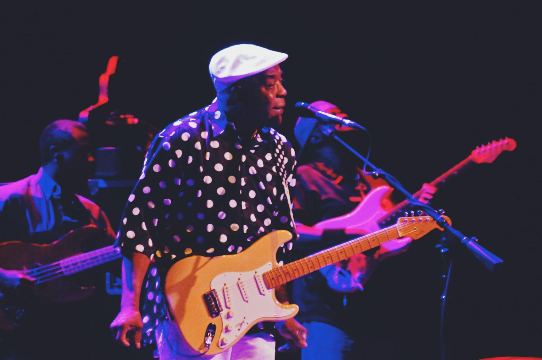 Legendary Louisiana-born bluesman Buddy Guy took the stage at ELLNORA in 2013 at the Krannert Center.
