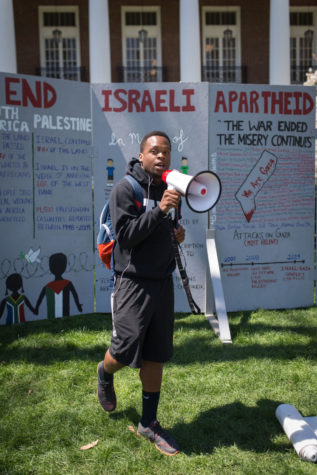 Students hold events addressing Israeli-Palestinian conflict