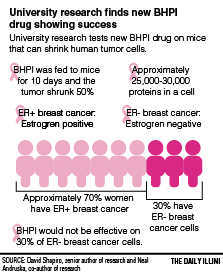 University researchers see progress with new cancer drug
