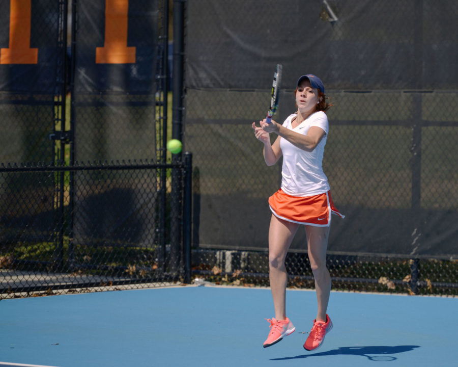 Illinois+women%E2%80%99s+tennis+goes+3-0+during+homestand