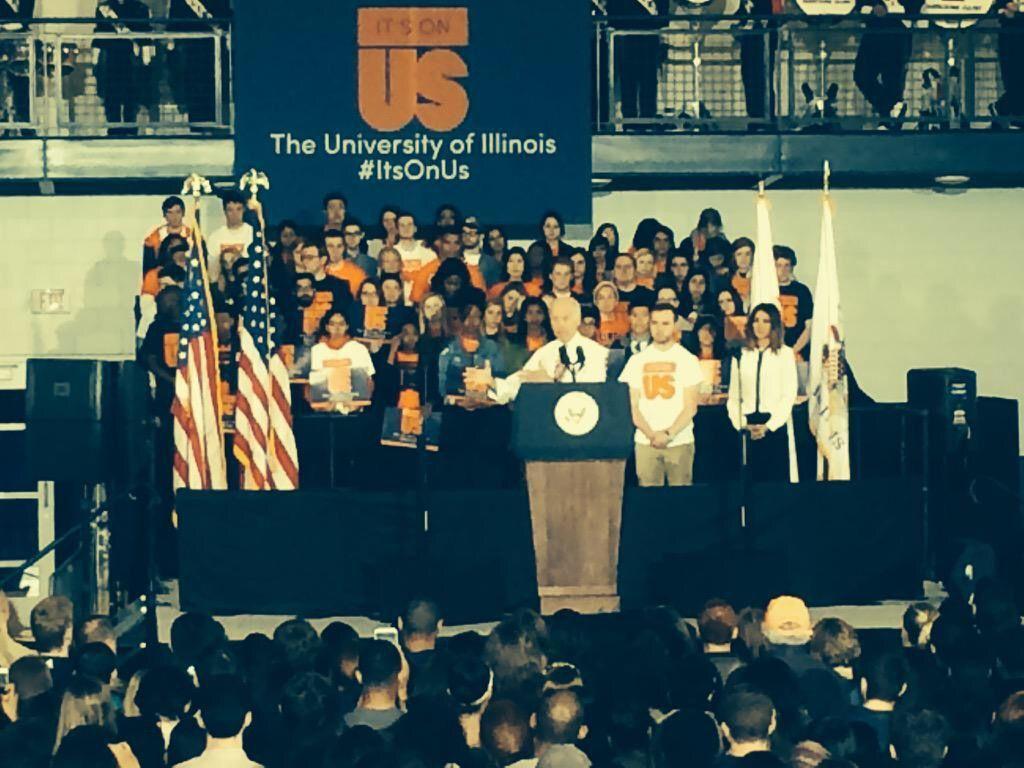 Joe+Biden+speaks+at+%22It%27s+On+Us%22+rally+Thursday.%C2%A0