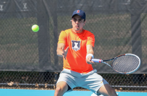 Illinois men's tennis aims to complete perfect Big Ten Season