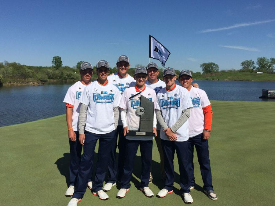 No. 2 Illinois men's golf cruises to first-place Big Ten finish