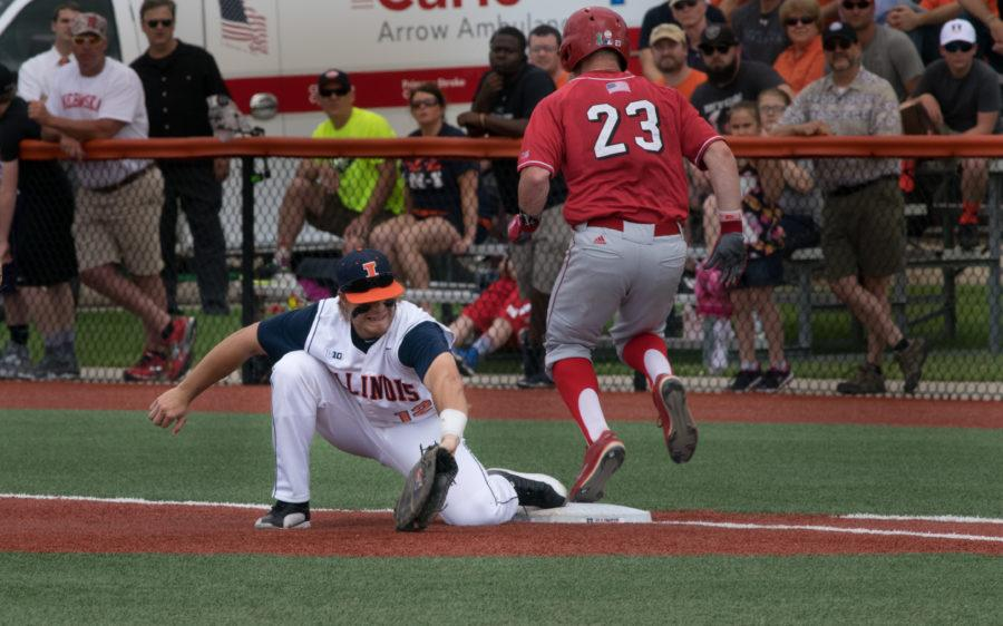 Illinois baseball win streak extends to Big Ten Championships