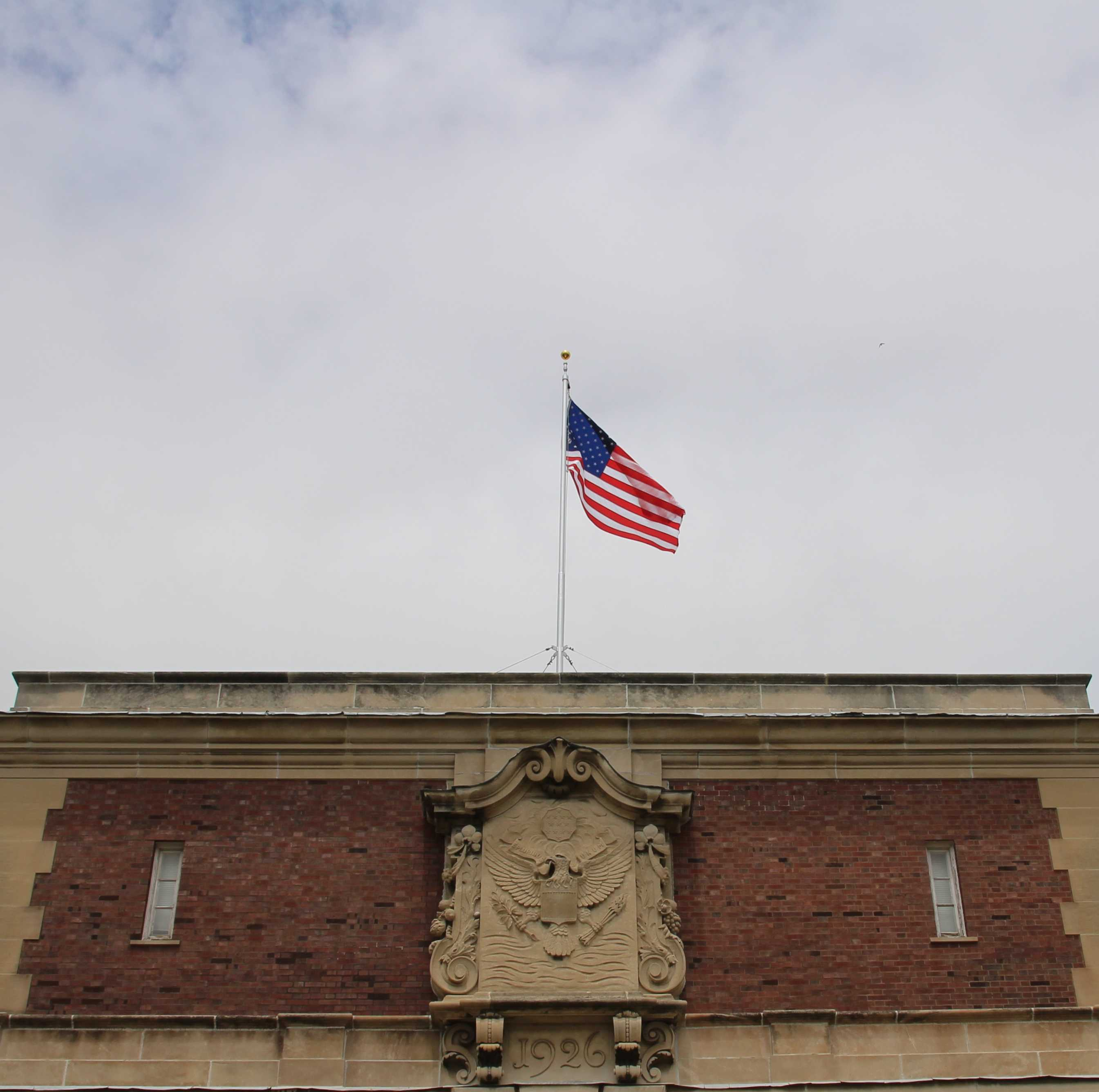 Old+Glory+was+raised+again+on+the+south+side+of+the+Armory+on+Tuesday+morning.+The+flag+had+been+out+of+service+for+nearly+40+years+for+unknown+reasons.%26nbsp%3B