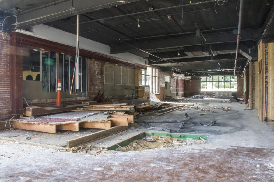 Construction is underway at the new home ofPapa Dels restaurant at 1201 S.Neil St.,Champaign. The building formerly housed Orange and Brew.