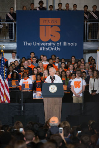 Biden's visit inspires continued interest in campaign to end sexual assault