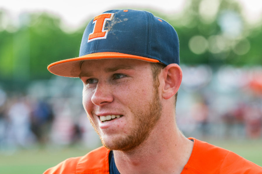 Illini baseball celebrates record-breaking MLB draft