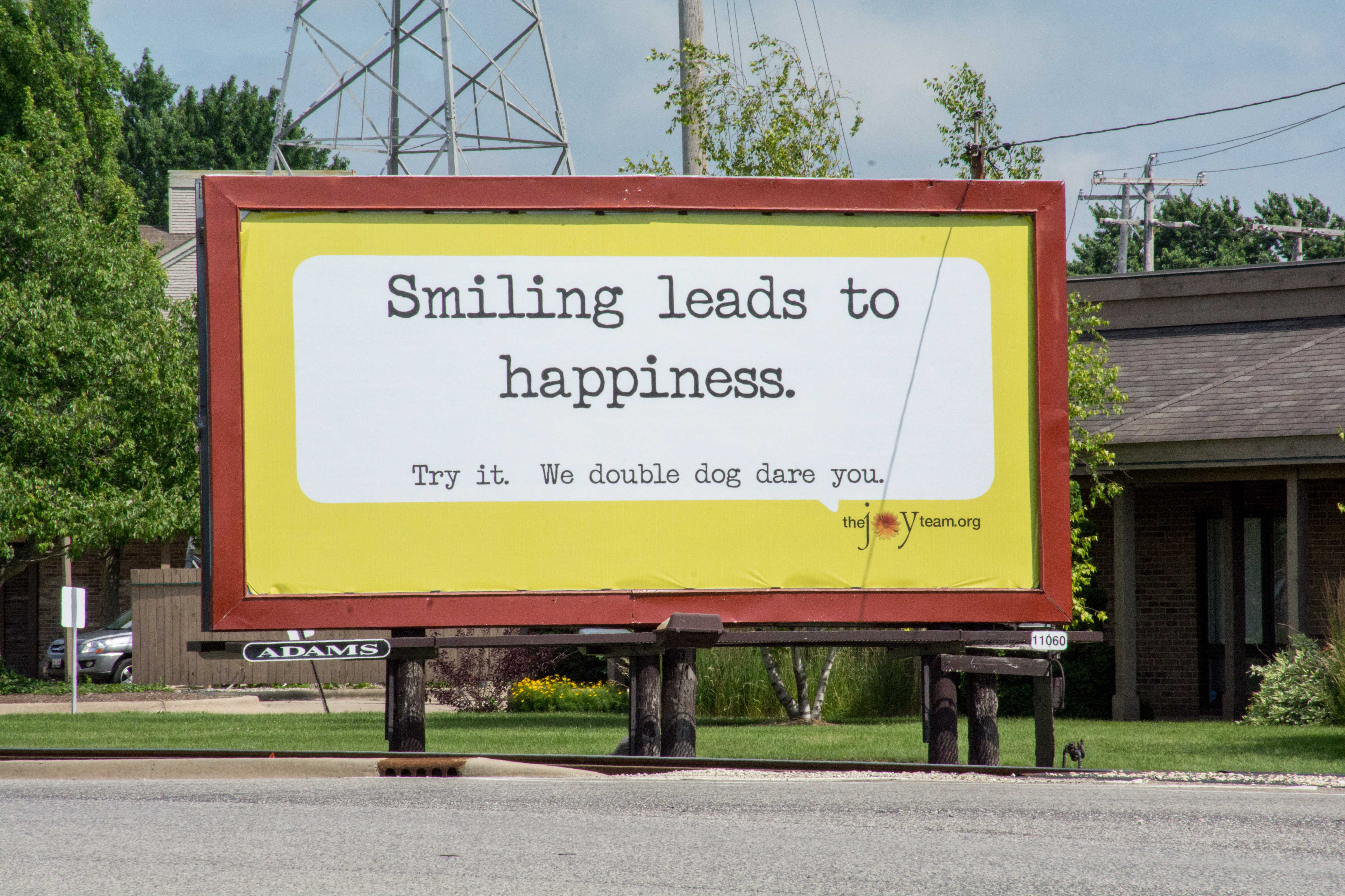 The new inspiring billboard at the corner of Springfield Avenue and Duncan Road in Champaign on Saturday, June 20.