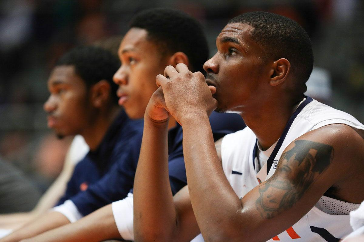 Illinois point guard Tracy Abrams tore his Achilles tendon and will be out for the 2015-2016season, the school announced Tuesday. Abrams missed last season with a torn ACL. He redshirted last season and was expected to start for the 2015-2016 Illini.