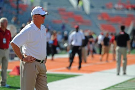 Bill Cubit was recently named interim head football coach after Tim Beckman was fired.