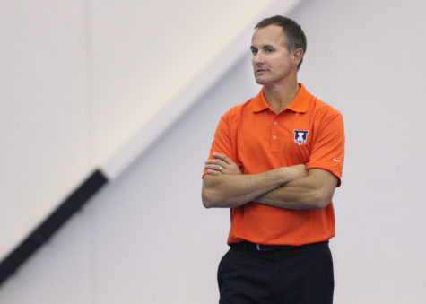 Illini men's tennis coach Brad  Dancer has prolific past colleagues