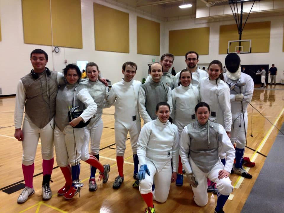 The Fighting Illini compete at a competition at Purdue University. The RSO has participated in fencing competitions across the country.