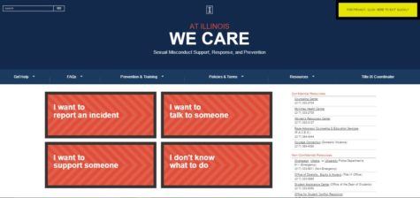 University debuts sexual assault survivor resource website