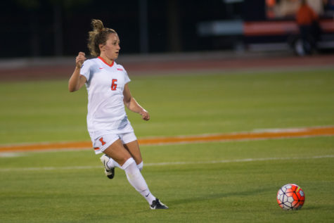 Robishaw down and out for Illini soccer