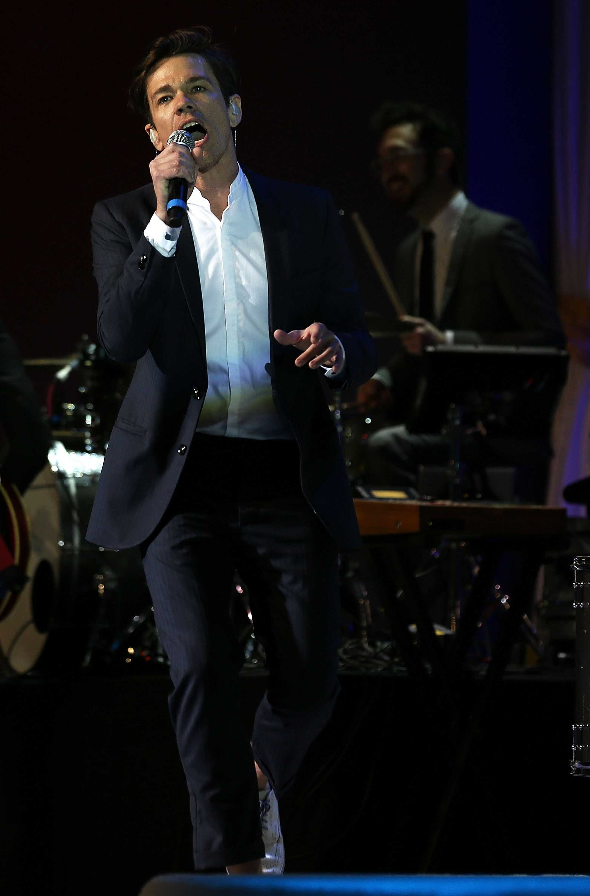 Nate Ruess of the band Fun performs during the Inaugural Ball on Monday, January 21, 2013 in Washington, D.C.