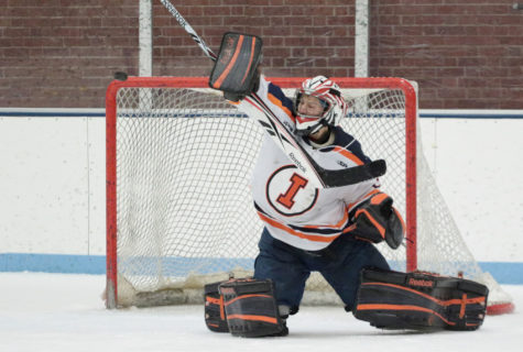 Illinois hockey's talented youth and defense sweep Spartans
