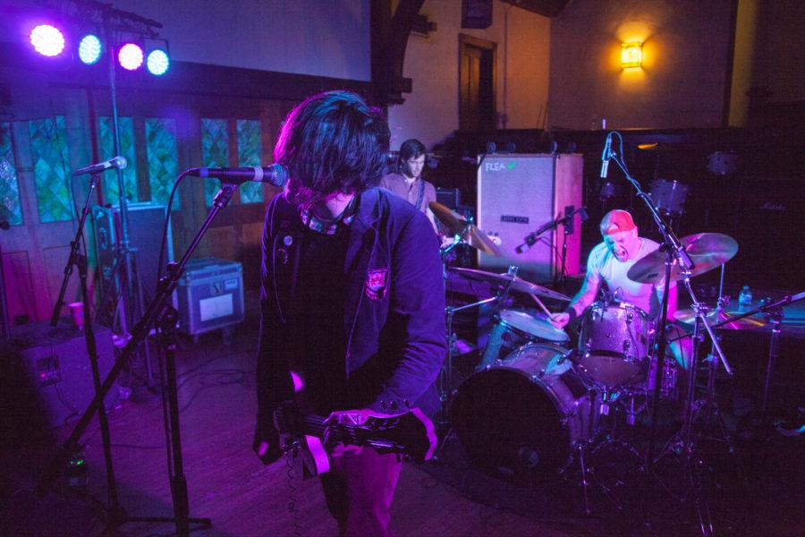 The Philadelphia-basedband Beach Slang performs atThe Red Herring on Friday night and into Saturday morningas part of the Pygmalion Festival. Beach Slang's latest record was produced by local record company Polyvinyl.