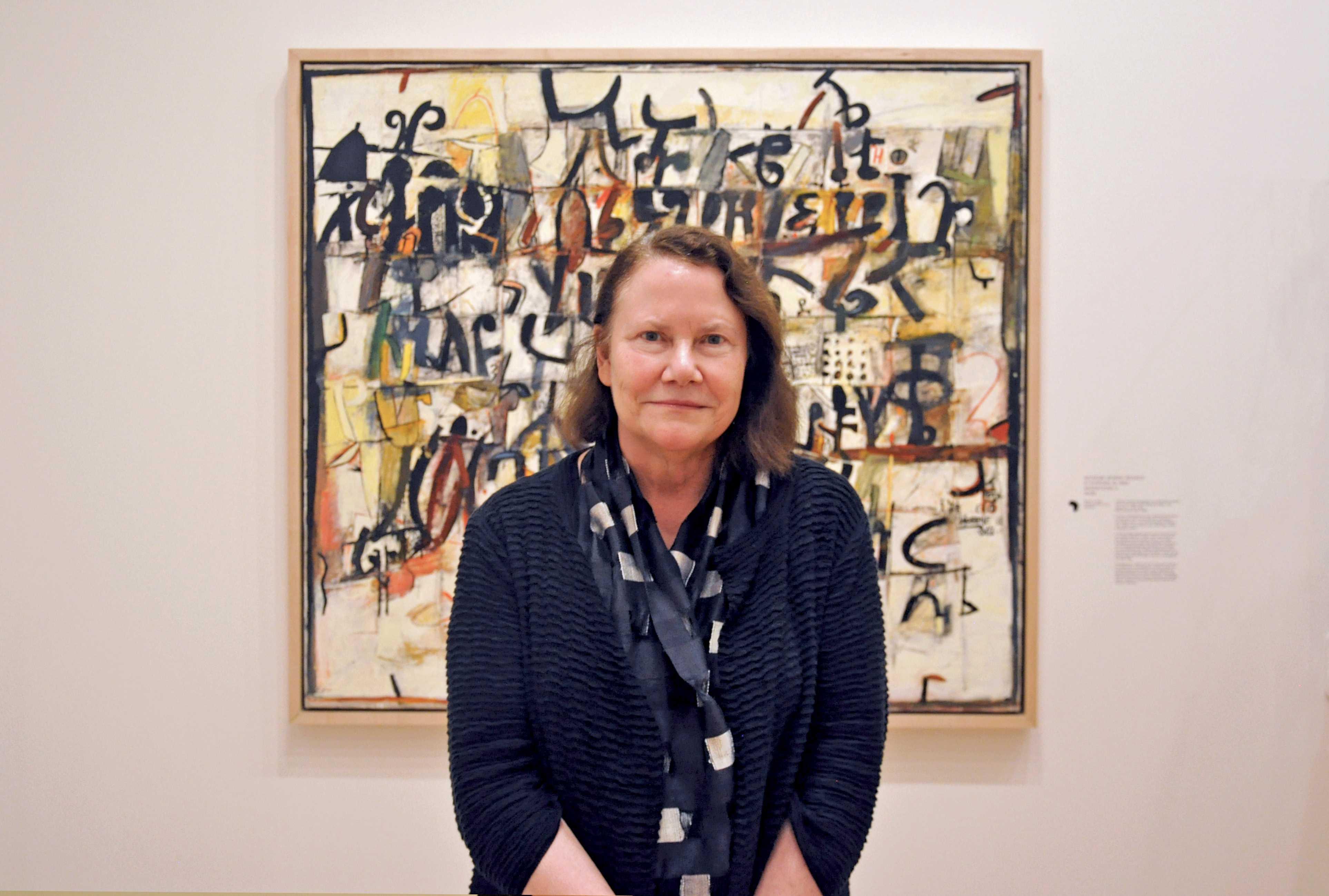 New Krannert Art Museum Director Kathleen Harleman at the Krannert Art Museum on September 28, 2015.