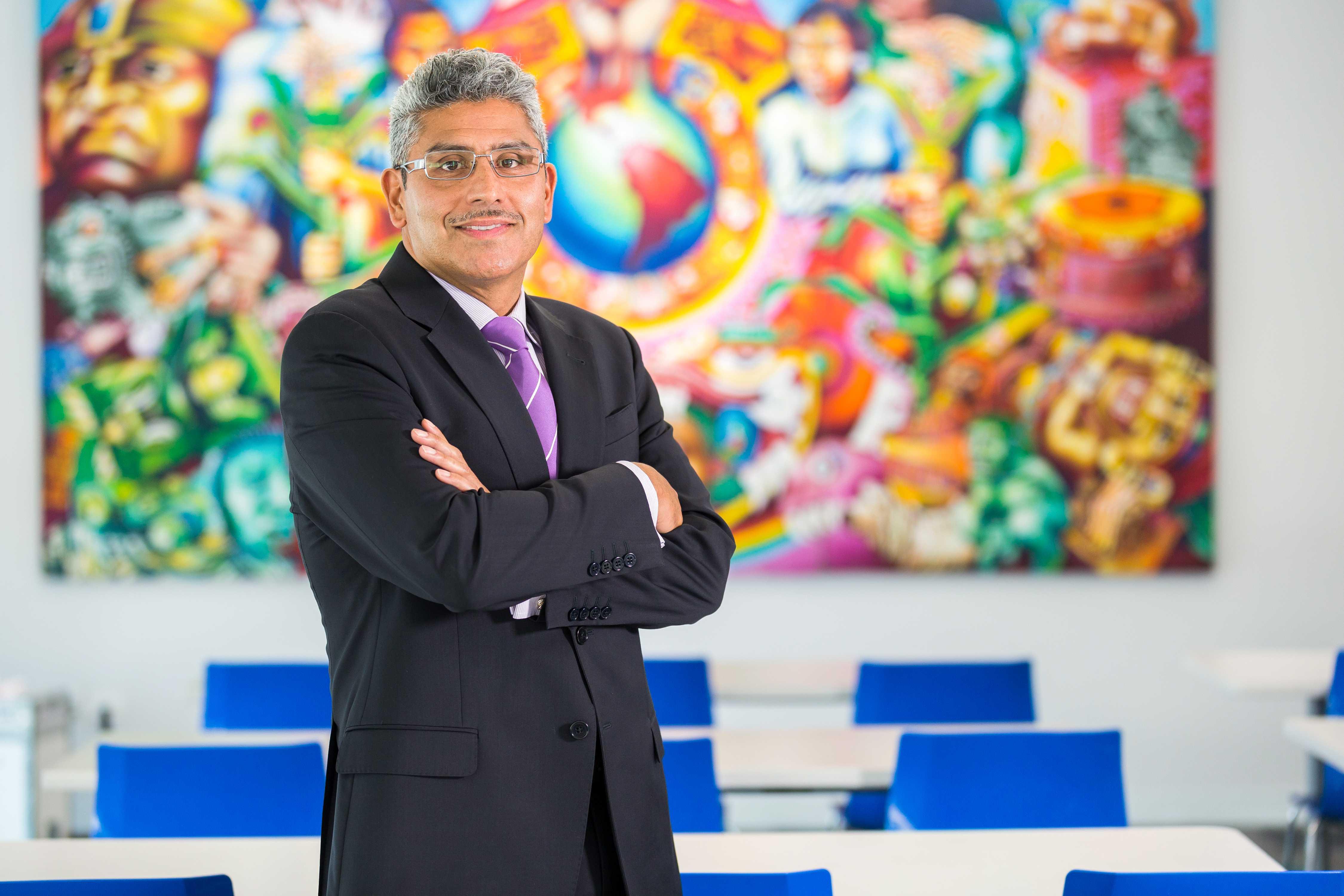 Juan Salgado, CEO of Instituto Del Progreso Latino, at his office in Chicago, Tuesday, September 15, 2015.