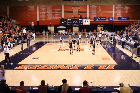 No. 13 Illinois volleyball returns to Huff Hall after five weeks on road