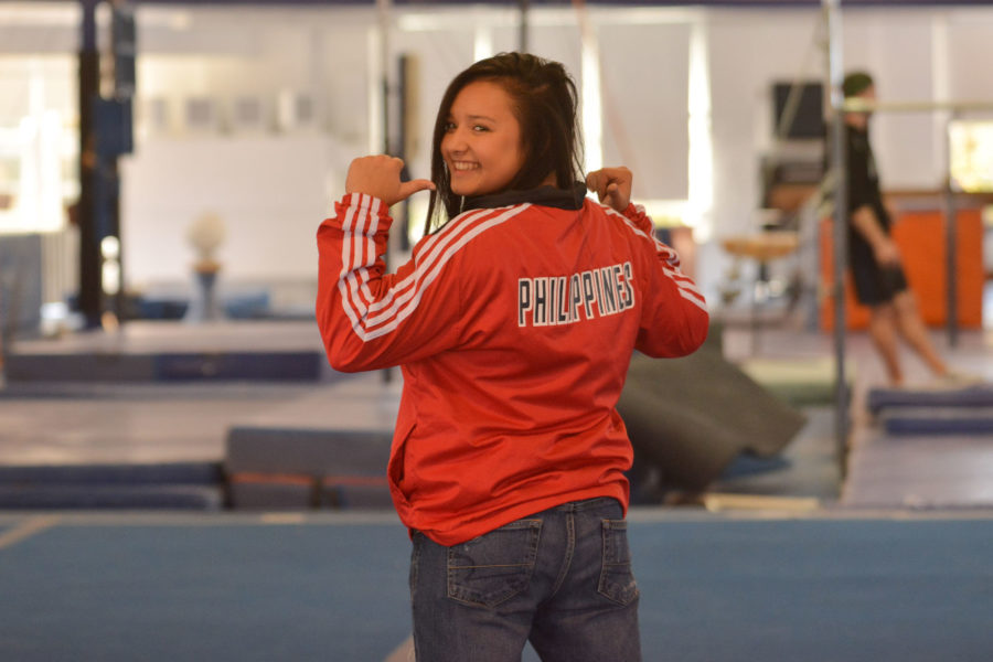 Gymnastics helps Lizzy LeDuc grow as a Filipino
