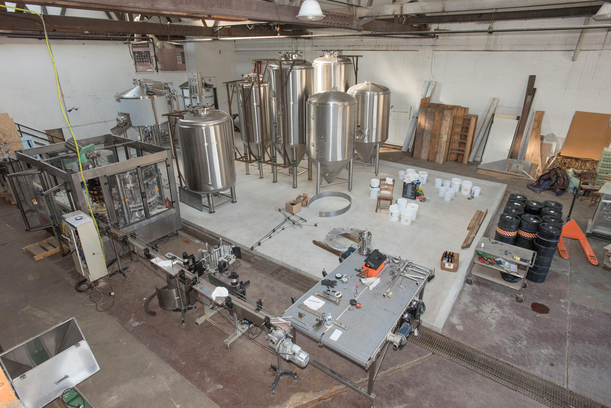 Blind+Pig+Brewery+in+Champaign+is+working+on+finishing+it%27s+new+production+facility+that+will+allow+it%27s+beer+to+be+bottled+and+sold+outside+of+the+brew-pub.