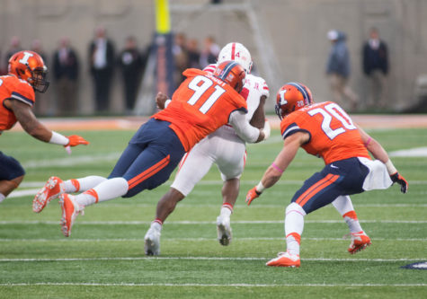 Illinois football's Dawuane Smoot is a big man with big speed