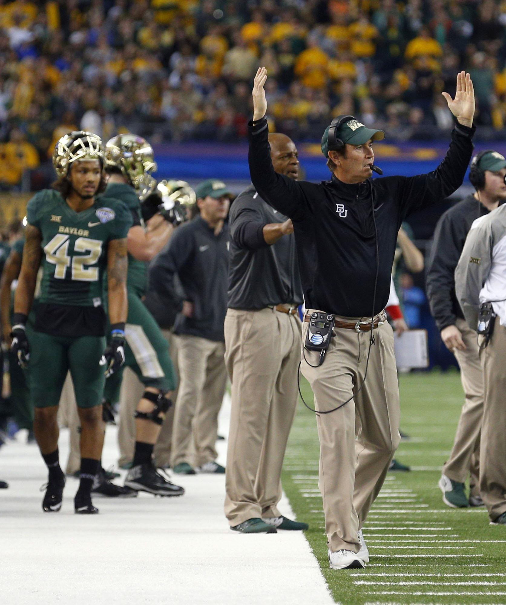 Following+Baylor+quarterback+Seth+Russell%E2%80%99s+season-ending++neck+injury%2C+can+the+Bears+pull+a+page+out+of+Ohio+State%E2%80%99s+2014+national++championship+run%3F