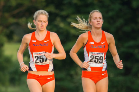 Illinois women's cross-country team heads to Evanston to compete in Big Ten Championships