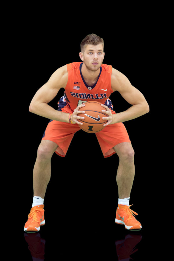 Finke ready to step up for Illinois men's basketball