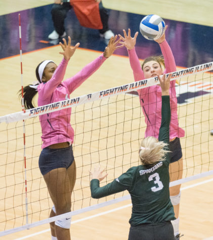 Illini volleyball freshman Ali Bastianelli used to fighting for what she wants