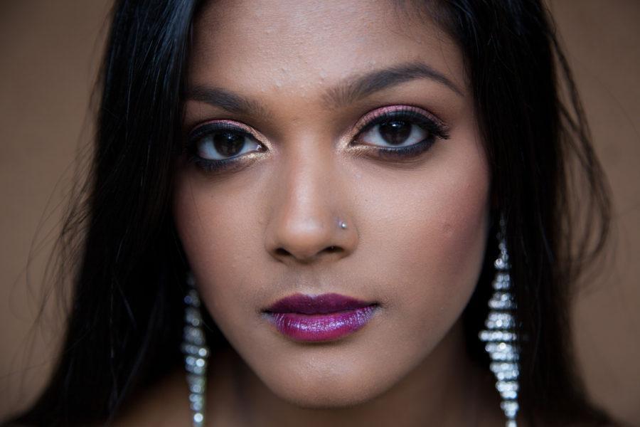 Portrait of make up artist, Momo Sahoo by Walbert Castillo.