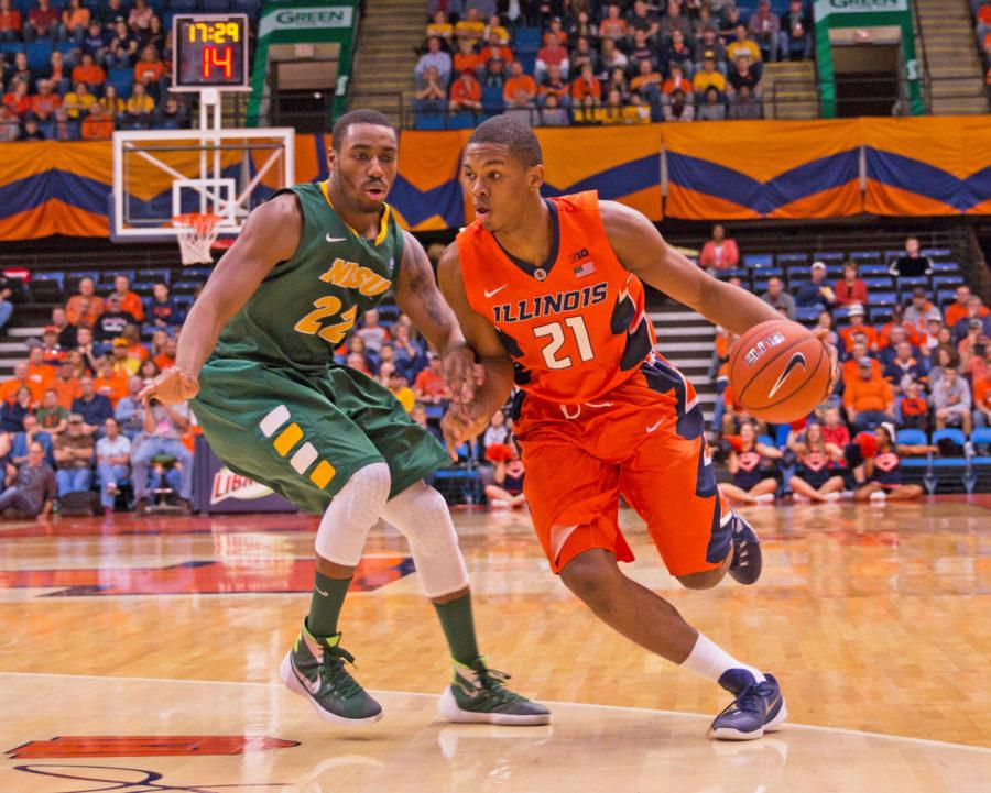 Illini men's basketball tops North Dakota State behind Thorne's big day