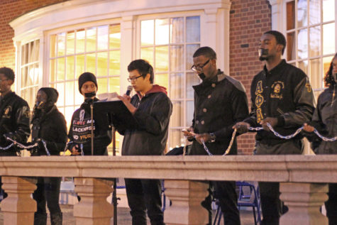 Interim Chancellor Wilson responds to vigil held to discuss racism and discrimination