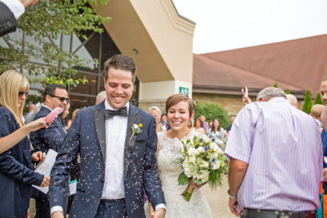 Bill Karr, a University graduate student, married Olivia Russell-Karr in July.