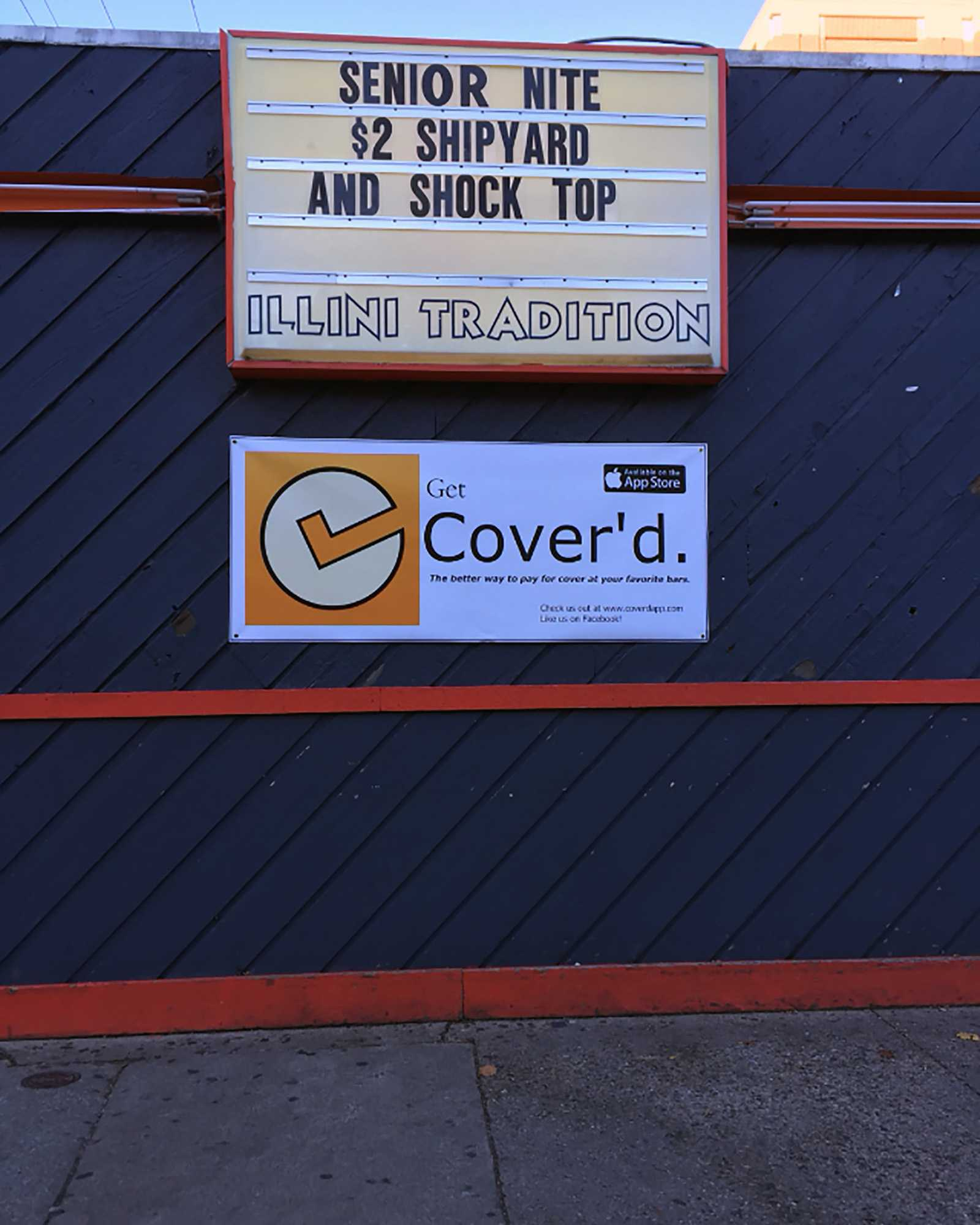 Cover'd is a new app created by University students that lets users pay for cover to get into Kam's digitally.