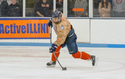 Mcging takes on the scorer role for Illini hockey against Robert Morris