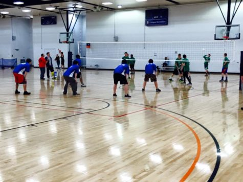 IIAA brings together kids and volleyball at the ARC