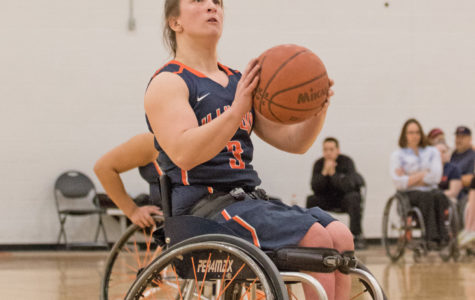 Illinois women's wheelchair basketball players trying out for 2016 Rio Paralympic Games