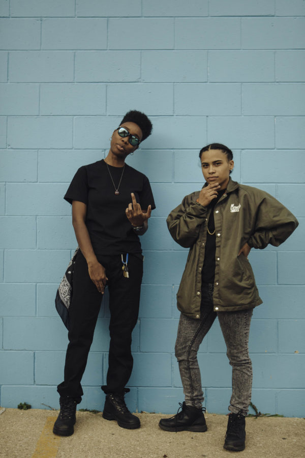 Rap duo Mother Nature shares a message of empowerment and advocates for social change. The duo performed during Pygmalion Festival at Cowboy Monkey.