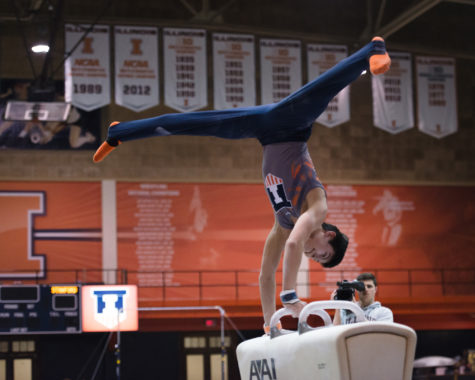 Men's gymnastic faces reigning Big Ten champs