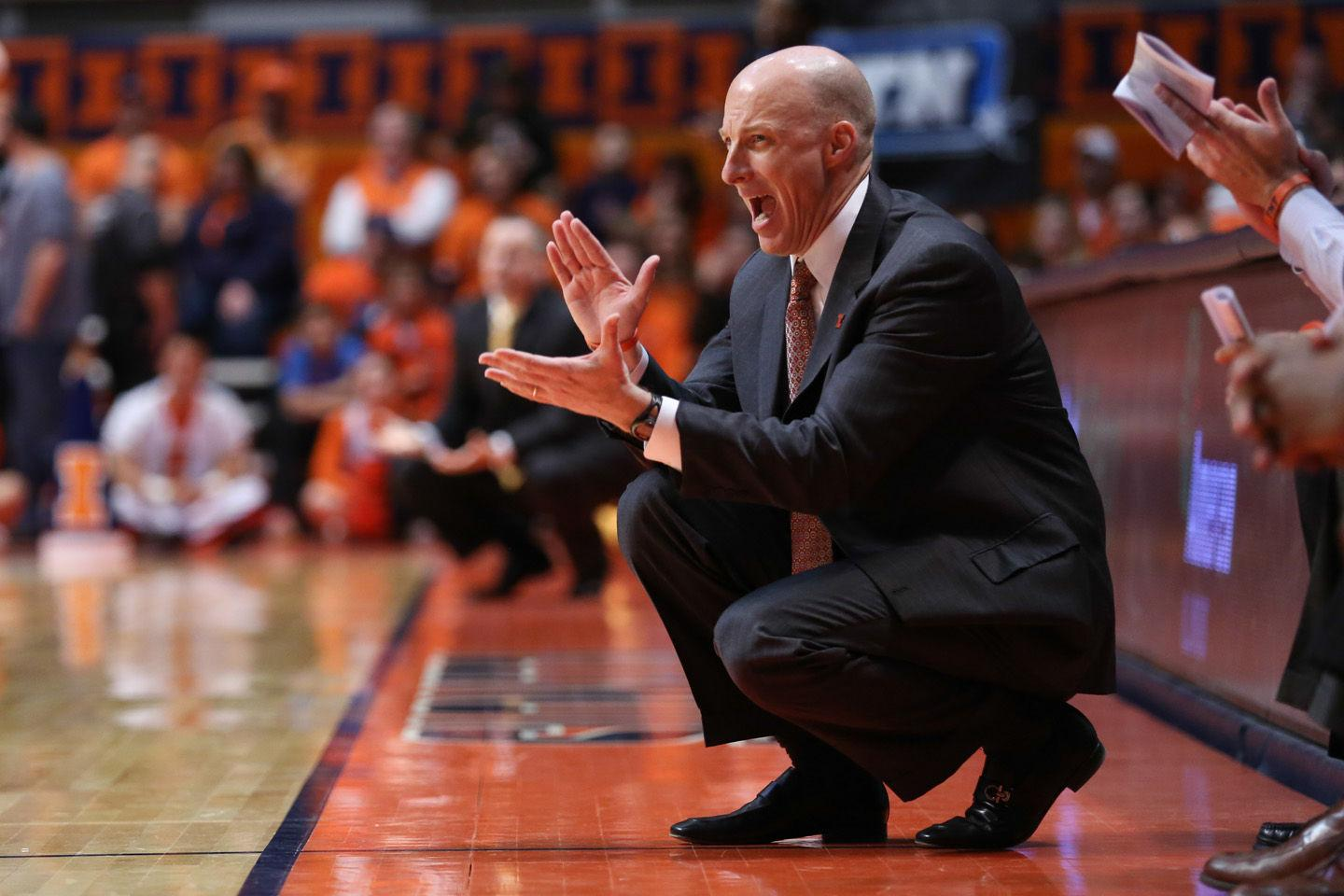 John Groce was an assistant on the 2005 Ohio State team that handed then-No. 1 Illinois its only regular season loss. Since becoming Illinois' head coach, Groceis 1-5 against Ohio State.