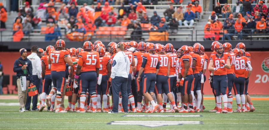 Bill Cubit and the Illinois football team must replace 21 graduating seniors from the 2015 season.