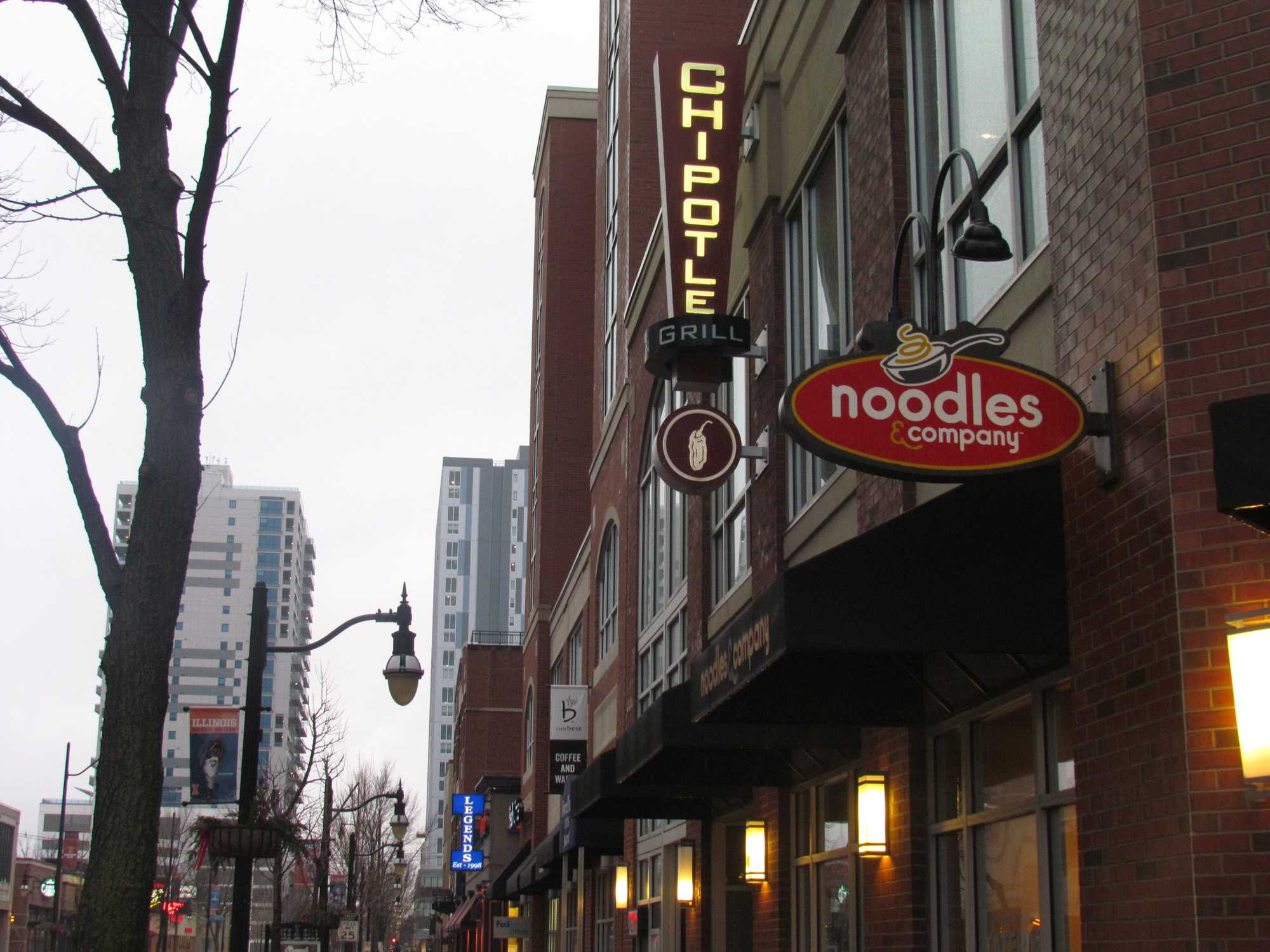 The Chipotle on Green St. was one of several locations involved in a data breach of several of the chain's locations. The campus location was vulnerable from March 25 to April 18.
