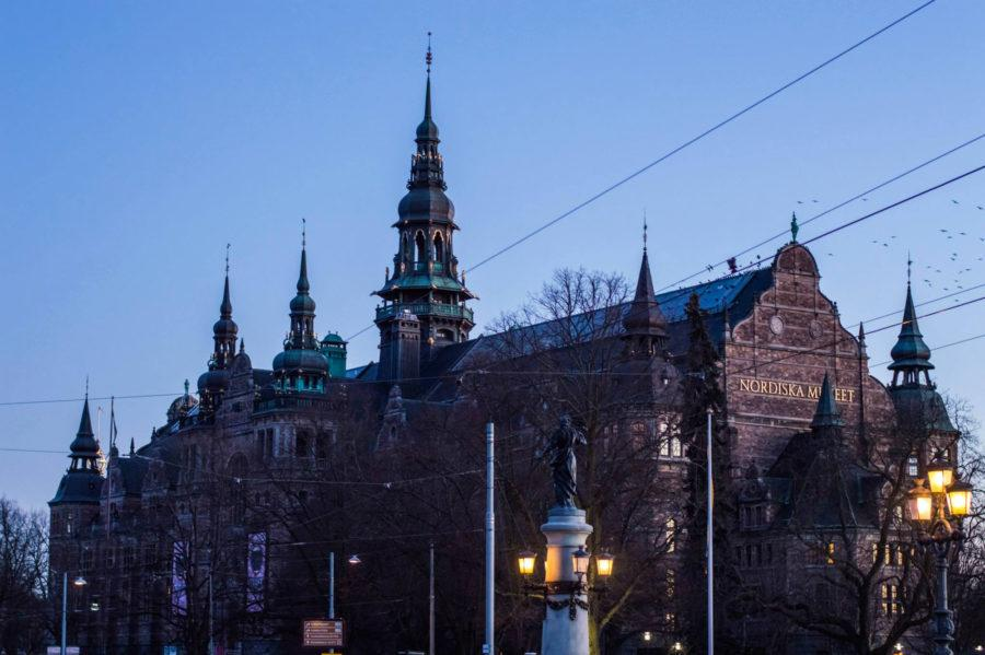 The+Nordiska+Museum+in+Stockholm.+