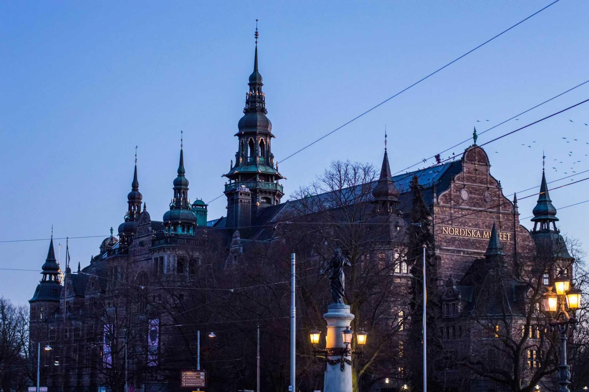 The Nordiska Museum in Stockholm.